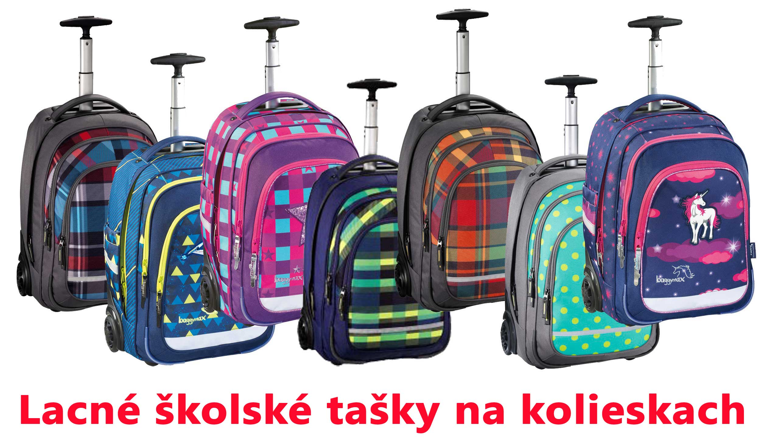 f3a0e50468 Lacné školské tašky na kolieskach predaj